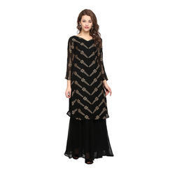 Long Kurti With Skirt
