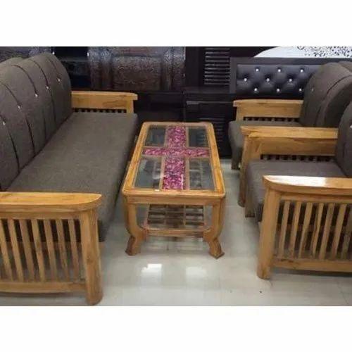 Brown Modern Teakwood Sofa Set For Home Rs 40000 Set Stylofurnish Interior Solutions Id 21559915333