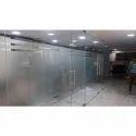 Transparent Office Door Glass