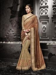 Metallic Color Saree