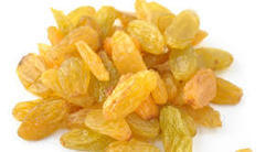 Raisins Golden Colour