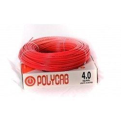 Polycab Red Electrical Power Cable, 220 V