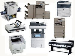 Samsung and Xerox Automatic Printers