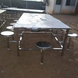 10 Seater SS Canteen Table