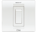 Press Fit - One 16 Amp. 1-in-1 Modular Switch