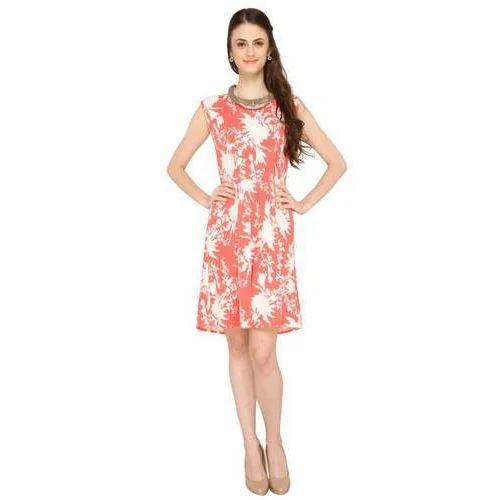 70229013529 Linen Casual Wear Short One Piece Dress