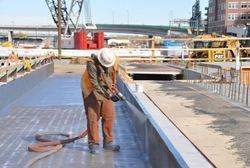 Chemical Water Proofing Work