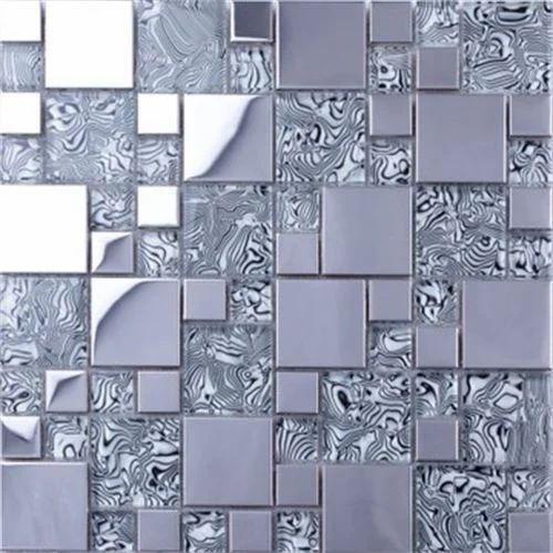 4mm Glass Mosaic Interior Tile