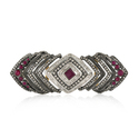 Gemco Designs Silver Gemstone Ring