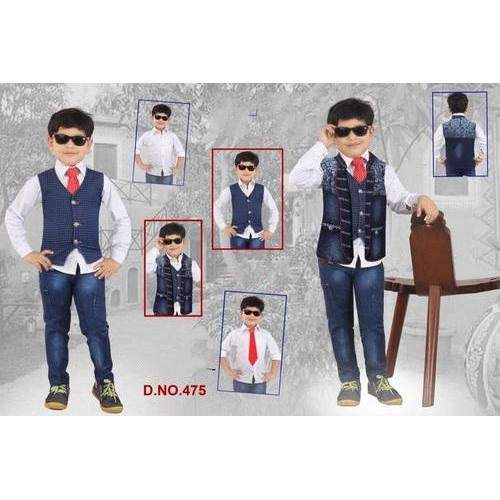 reliable quality reliable quality look out for Denim Boys Party Wear Dress, Rs 699 /piece, Bombay Style | ID ...
