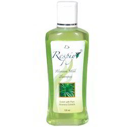 Respiyr Women Aloe Vera Mild Shampoo, Pack Size: 125 Ml, Packaging Type: Pet Bottles