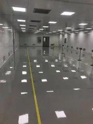 Clean Room Epoxy Flooring in Health Care Centre