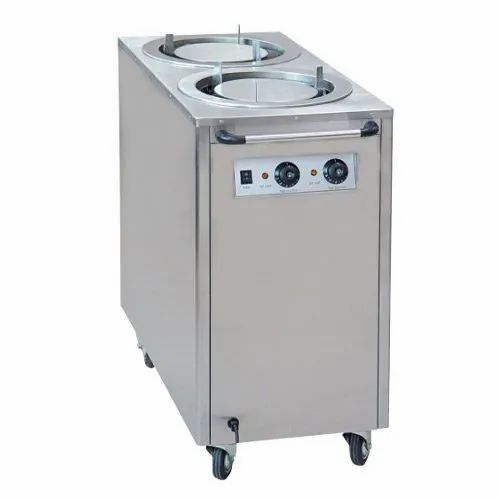 Quality Enterprises Stainless Steel Plate Warmer Double