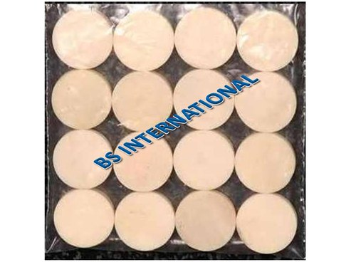 White Bone Button Blanks, Packaging Type: Packet