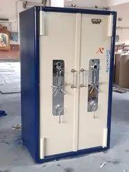 Mild Steel Double Door Safe