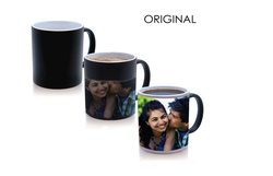 Original High Quality Color Changing Magic Photo Mug (Black)