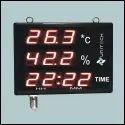 Large Display Temperature   Humidity Indicator