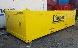 Dnv 2.7-1 Certified 20ft Half Height Container ,Half Height Basket