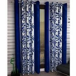 Cotton Knitted Printed Curtain