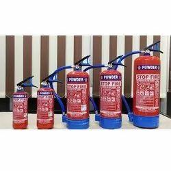 A B C Dry Powder Type Multipurpose Fire Extinguisher, Capacity: 9kg