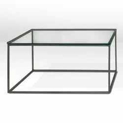 Rectangular Glass Cubus Center Table, Warranty: 1 Year