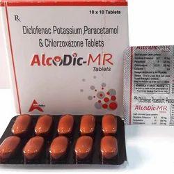 Paracetamol Diclofenac Potassium Tablets