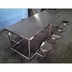 8 Seater SS Dining Table