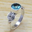 Peridot Gemstone 925 Sterling Silver Jewelry Fine Ring