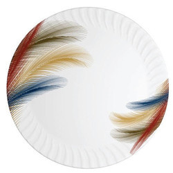 Feather Youch Magnetic Shape Melamine Plate