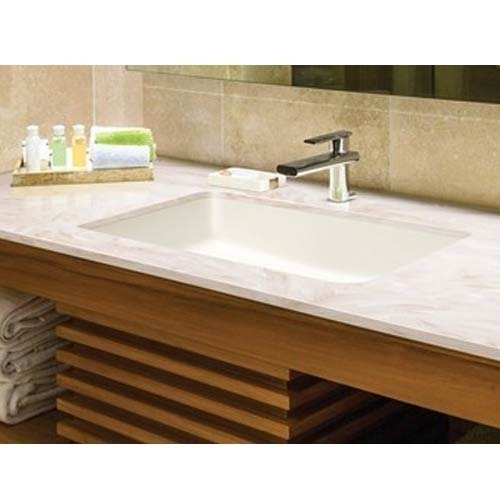 White Acrylic Solid Surface Bathroom, Solid Surface Bathroom Sink