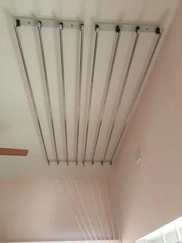 Ceiling Cloth Drying Hanger छत के लिए हैंगर छत के हैंगर