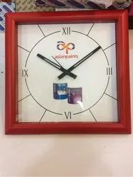 Square Shape Promotional Wall Clock
