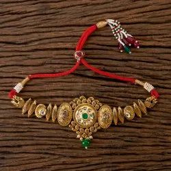 Antique Classic Baju Band with Gold Plating 202352