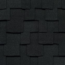 Charcoal Black Designer Shingles