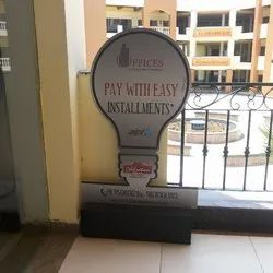 Promotional Acp Cut Out Signage