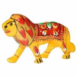 Meena Decorative Lion Sculpture