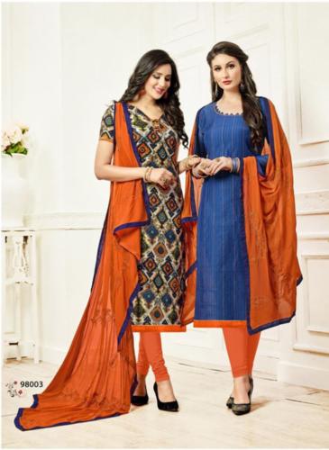 b35e628d2b Cotton Casual Wear Ladies Casual Unstitched Suit, Rs 685 /set | ID ...