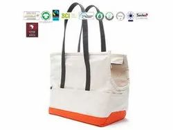 Natural Recycle Organic Cotton Recycle Bag
