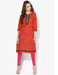 Printed Straight Cotton Kurtis
