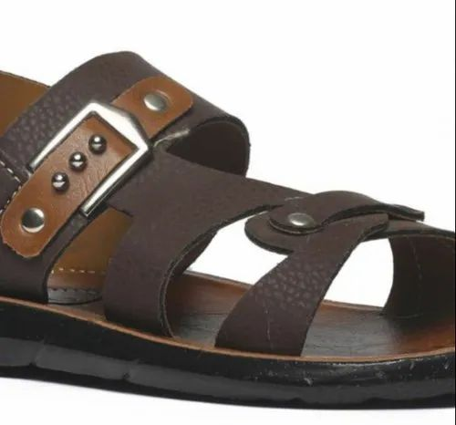 Paragon Boys Brown P-toes Casual
