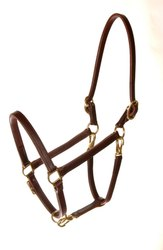 Convertible Leather Horse Halters