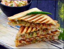 Chilli Cheese Grilled Sandwich