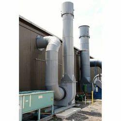 Fiberglass Fume Exhaust System