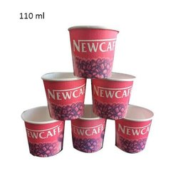 110ml Printed Paper Coffee Cup, Features: Disposable