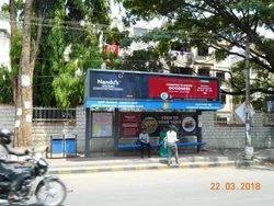Bus Shelter branding and Advertising
