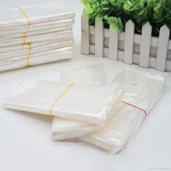 Transparent Plain Silk Bags