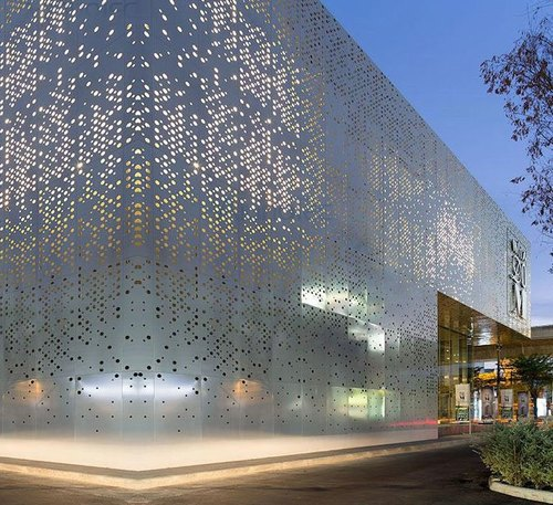 Aluminium Metal Facade For Construction Jainsons