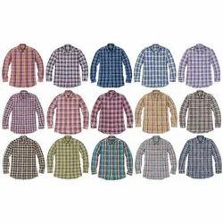 Men Fancy Check Shirts, Size: Small