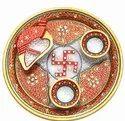 Marble Fine Pooja Thali