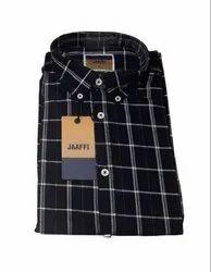 Jaaffi Checks Men's Formal Cotton Shirt